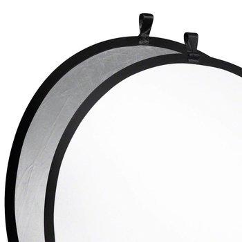 Walimex Foldable Reflector silver/white, 107cm