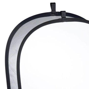 Walimex Foldable Reflector silver/white, 150x200cm