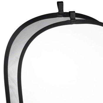 Walimex Foldable Reflector silver/white, 91x122cm