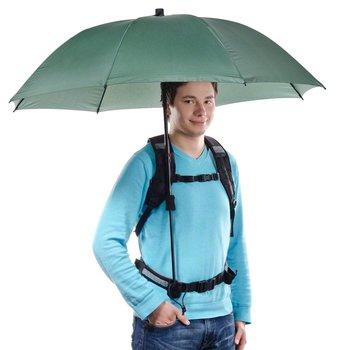 Walimex pro Swing Handenvrij Paraplu Olive met Draagsysteem