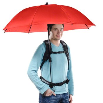 Walimex pro Swing handsfree Umbrella red w. Carrier System