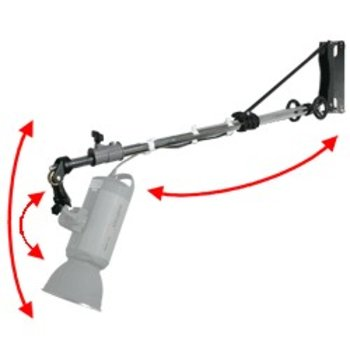 Walimex pro Wall Mount Boom with crank