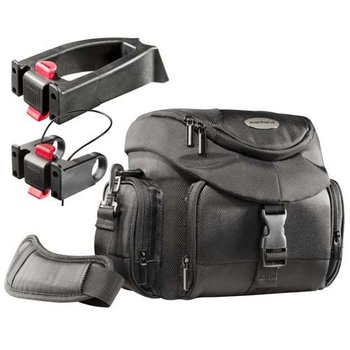 mantona Biker Photo Bag Set Premium + 2 Adapter