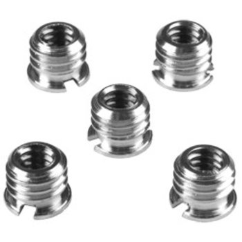 Walimex Adapter 1/4 to 3/8 inch, set of 5