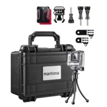 mantona suitcase S storage Set I for GoPro