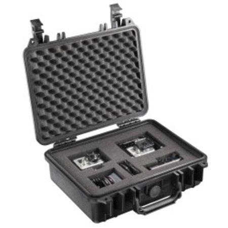 mantona suitcase M storage Set II for GoPro