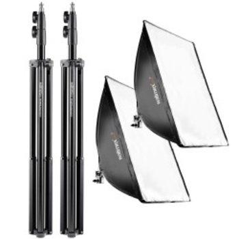 Walimex pro Daylight 250 Set +Softbox + Statieven