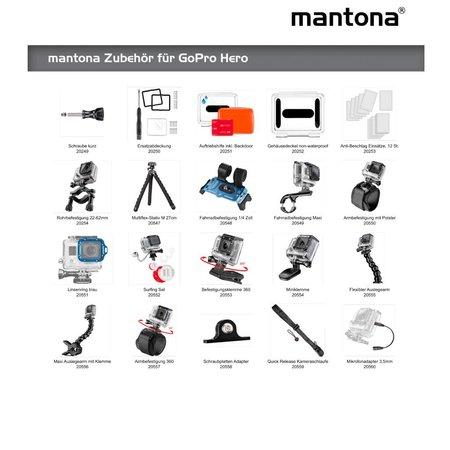 mantona microphone adapter 3.5 mm for GoPro
