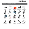 mantona Maxi boom arm with clamp for GoPro