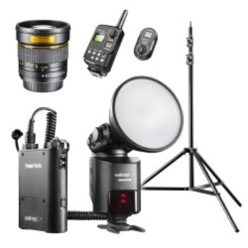 Walimex pro Light Shooter 360 Portrait Set Canon