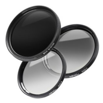 Walimex pro grey filter complete set 62 mm