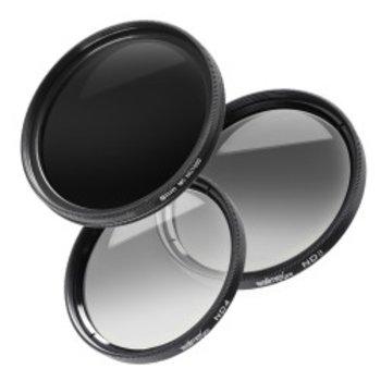 Walimex pro Grijsfilter complete set 62 mm