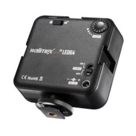 Walimex pro LED Video Light 64 LED