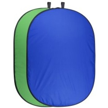Walimex pro Foldable Background 200 x 230 blue/green