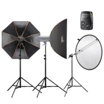 Walimex pro Studio Lighting Kit VC Excellence Advance 3.3