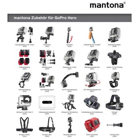 mantona GoPro underwater filter set 58mm