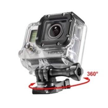 mantona GoPro 360 ° draaibare clip