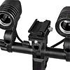 Walimex Dual Lamp Holder E27+ Hotshoe