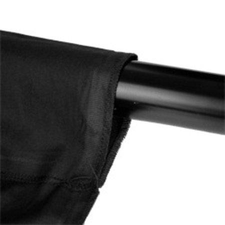 Walimex Cloth Background 2,85x6m, black