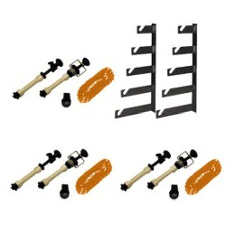 Walimex 5-fold Background Assembling Set, set of 3
