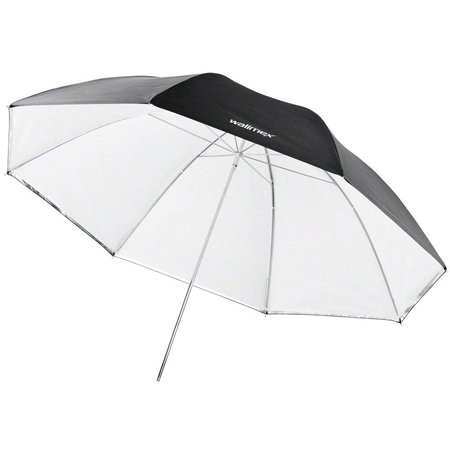 Walimex pro Reflex 2in1 & Transl. Umbrella white, 84cm