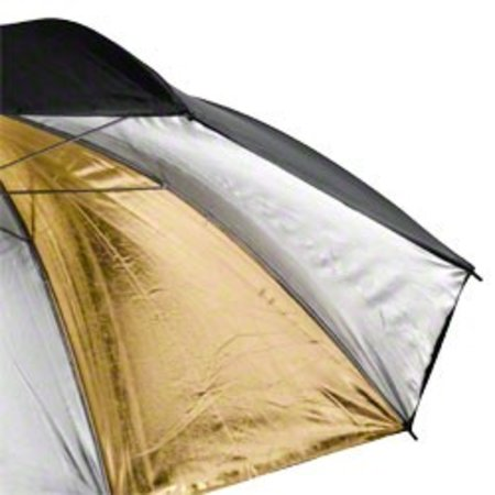 Walimex pro Reflex Umbrella Dual gold/silv 2 lay 84cm
