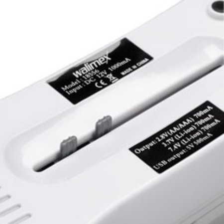 Walimex Universal Battery Charger 230V/12V