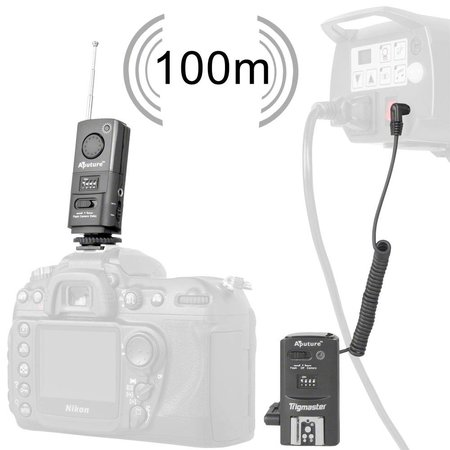 Aputure Set of 2 Aputure Trigmaster Plus TX1C f Canon 550D