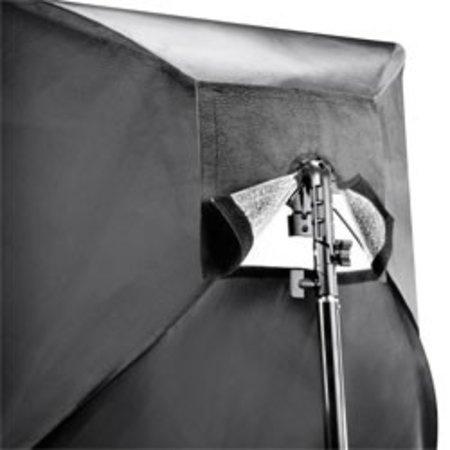 Walimex Set 4 Flash Holder, SB 60, Umbrella gold