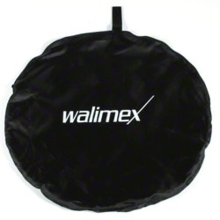 Walimex 2in1 Foldable Reflector wavygold/white