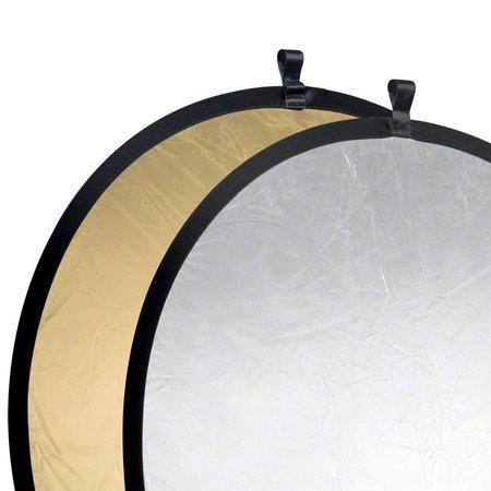 Walimex Foldable Reflector golden/silver, 107cm