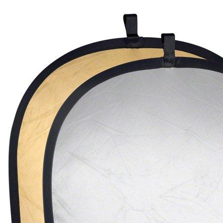 Walimex Foldable Reflector golden/silver, 91x122cm