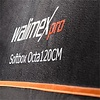 Walimex pro Octagon Softbox Orange Line 120