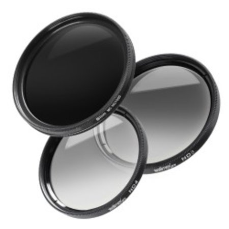 Walimex pro grey filter complete set 72 mm