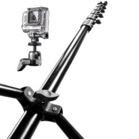 mantona Maxi Airview tripod for GoPro 6m