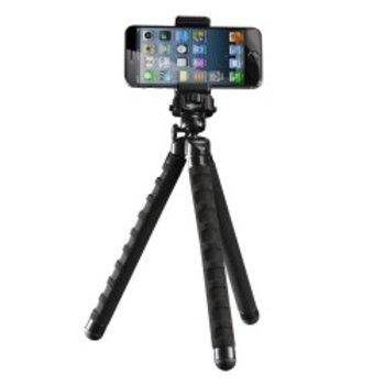 mantona Multiflex Camera Statief M incl. Smartphone houder