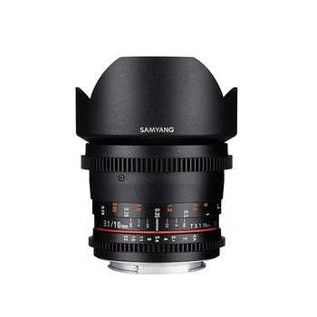 Samyang Samyang objectief 10mm T3.1 VDSLR ED AS NCS CS II voor diverse merken