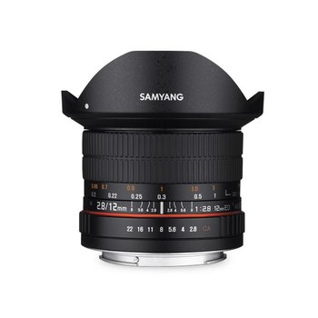 Samyang Samyang 12mm F2.8 ED AS NCS fisheye for different camera brands