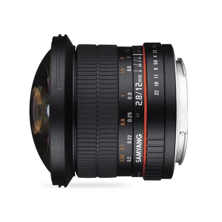 Samyang Samyang 12mm F2.8 ED AS NCS fisheye for different camera brands