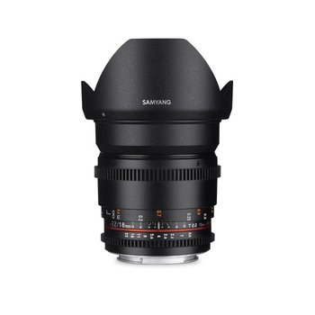 Samyang Samyang 16mm T2.2 VDSLR ED AS UMC CS II for various brands