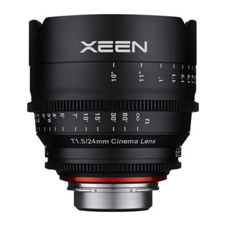 XEEN Xeen 24mm T1.5 FF cine for different camera brands