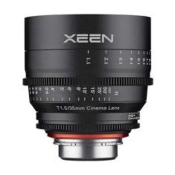 XEEN XEEN 35mm T1.5 FF cine voor diverse camera merken