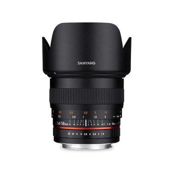 Samyang Samyang 50mm F1.4 AS UMC Zwart voor diverse camera merken