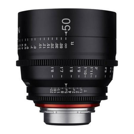 XEEN Xeen 50mm T1.5 FF cine for different camera brands