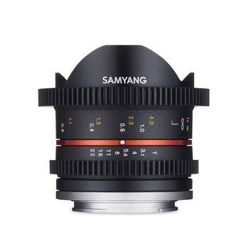 Samyang Samyang 8mm T3.1 cine UMC fisheye II voor diverse camera merken