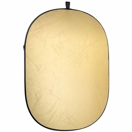 Walimex 2in1 Foldable Reflector gold/white
