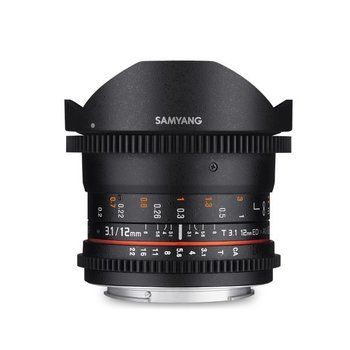 Samyang Samyang 12mm T3.1 VDSLR ED AS NCS fisheye for various brands