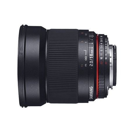 Samyang Samyang 16mm F2.0 ED AS UMC CS for various brands