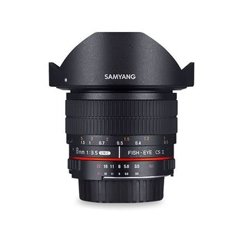 Samyang Samyang 8mm F3.5 UMC fisheye CSII for different camera brands