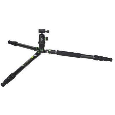 Genesis Gear Camera Tripod Base A3 + BH-34 Kit Green